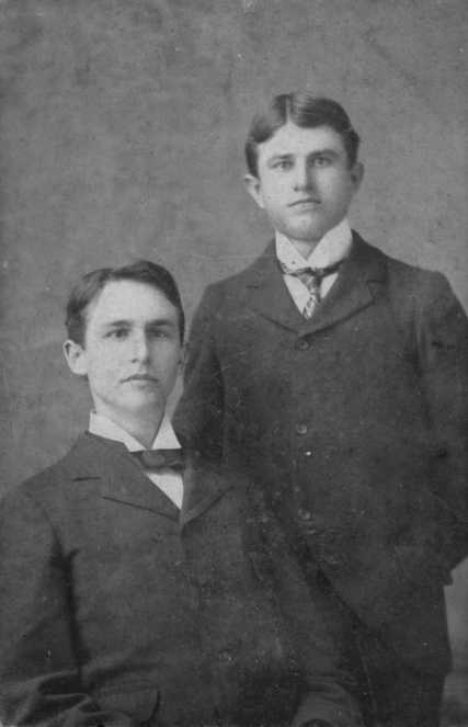 Earnest Alonzo Jackson and his brother Minter Jackson